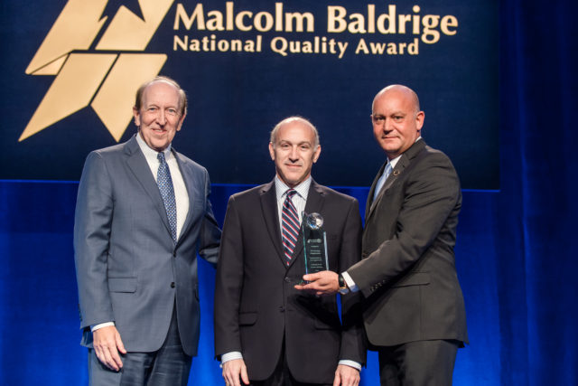 Synergy Organization Recognized At Annual Baldrige Quest for Excellence Conference